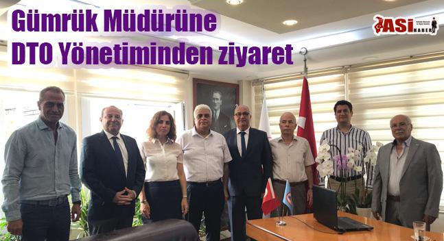 Gümrük Müdürüne DTO Yönetiminden ziyaret