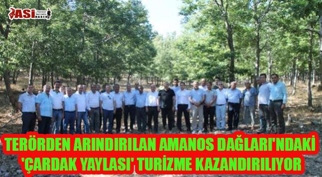 TERÖRDEN ARINDIRILAN AMANOS DAĞLARI'NDAKİ 'ÇARDAK YAYLASI' TURİZME KAZANDIRILIYOR